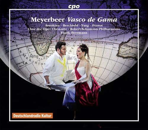 Meyerbeer, G,: Africaine (L'), 'Vasco de Gama' [Opera] (Berchtold, Chemnitz State Opera Chorus, Robert Schumann Philharmonie, Beermann)