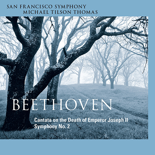 Beethoven, L. van: Symphony No. 2 / Cantata on the Death of the Emperor Joseph II (S. Matthews, Mumford, B. Banks, Foster-Williams, M. Tilson Thomas)