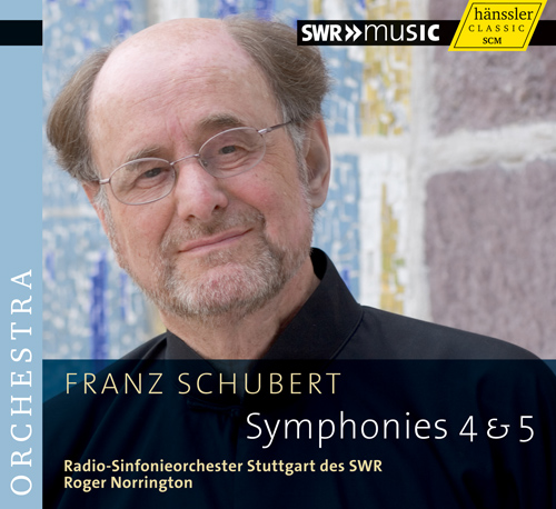 Schubert, F.: Symphonies Nos. 4, 'Tragic', and 5 (Stuttgart Radio Symphony, Norrington)