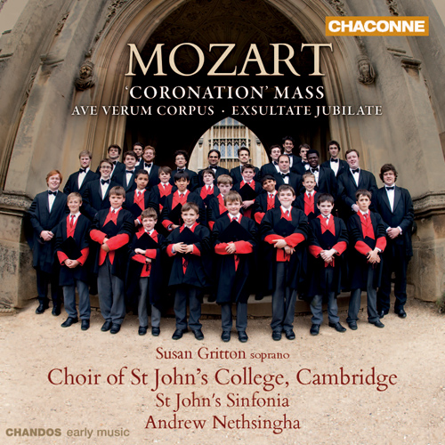 Mozart, W.A.: Mass No. 16, 'Coronation' / Ave verum corpus (St. John's College Choir, Cambridge, Nethsingha)