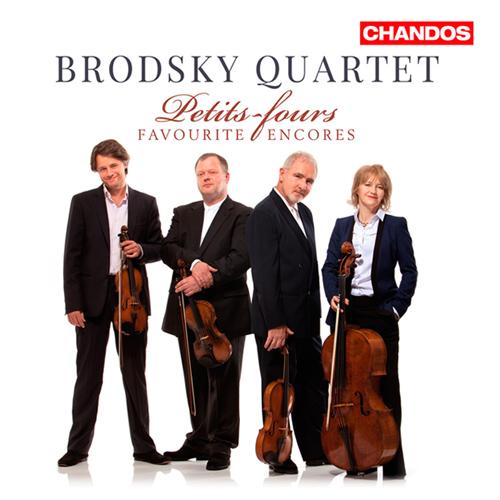String Quartet Arrangements - Sarasate, P. de / Falla, M. de / Elgar, E. (Petits-fours: Favourite Encores) (Brodsky Quartet)
