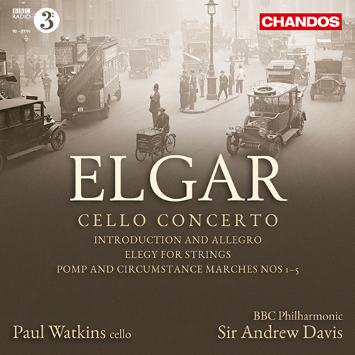 Elgar, E.: Cello Concerto in E minor, Op. 85 / Introduction and Allegro / Elegy / 5 Military Marches, 'Pomp and Circumstance' (Watkins)