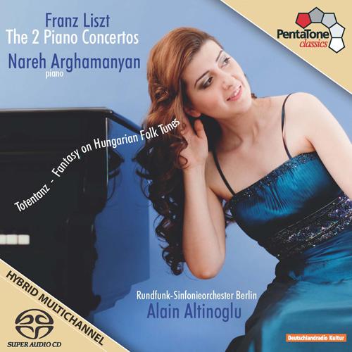 Liszt, F.: Piano Concertos Nos. 1 and 2 / Totentanz / Hungarian Fantasy (Arghamanyan, Berlin Radio Symphony, Altinoglu)